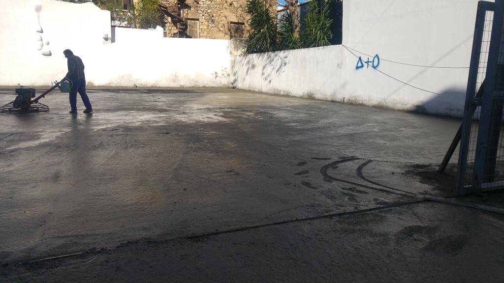 Βιομηχανικό δάπεδο λείανση στην Αθήνα